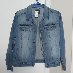 NWT Boys The Children's Place Jean Jacket XL
